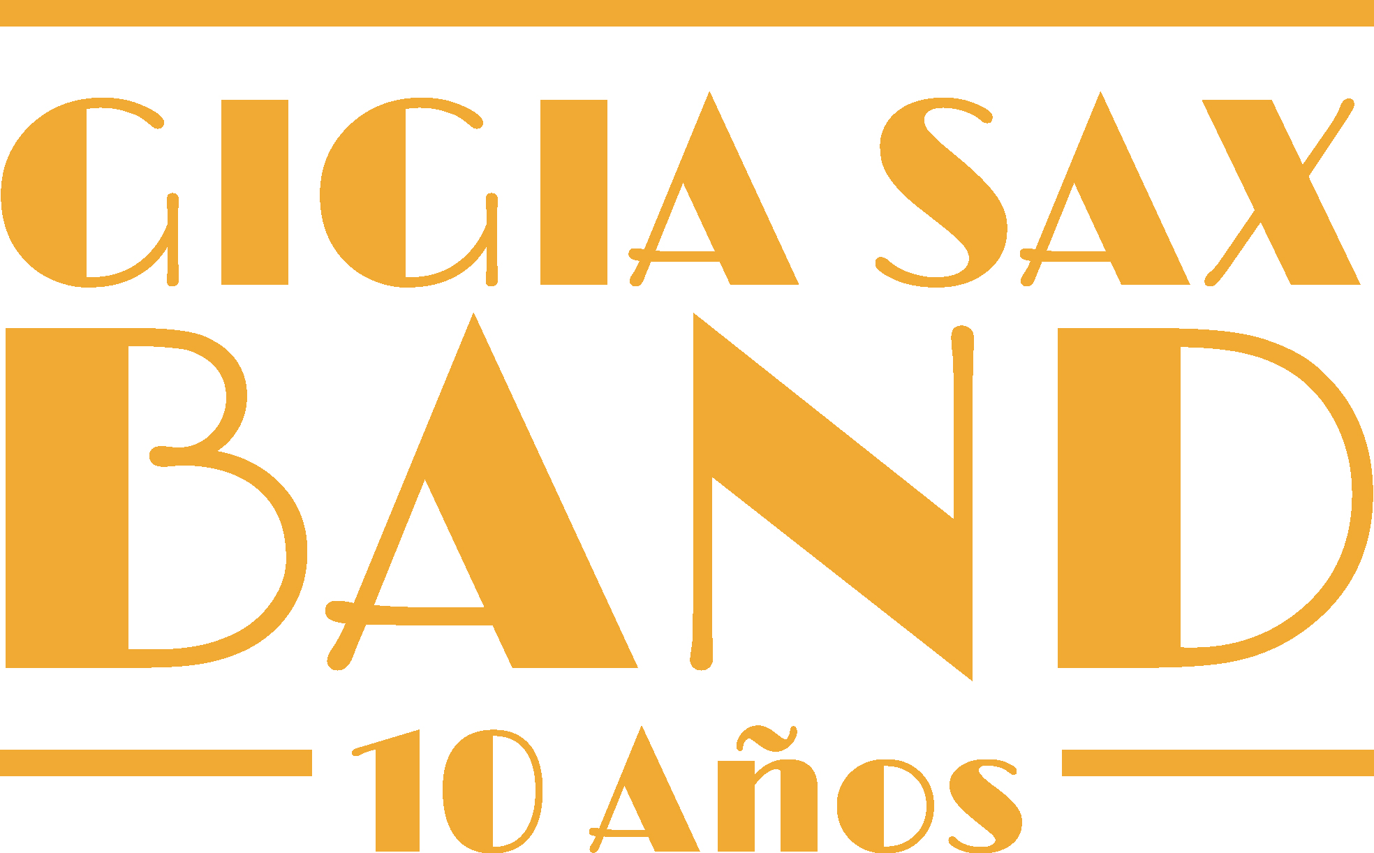 Gigia Sax Band Logotype for the event